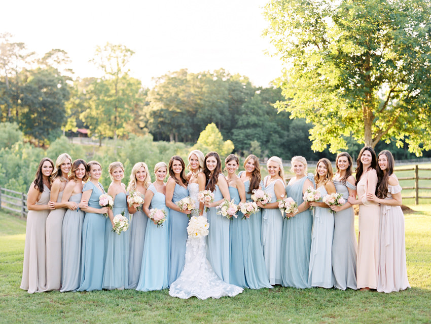 blue bridesmaids dresses film