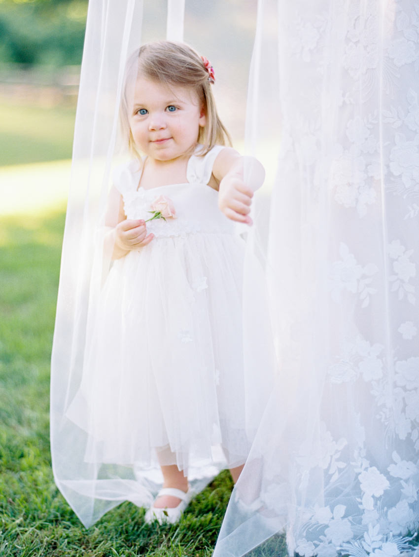flower girl north carolina film wedding