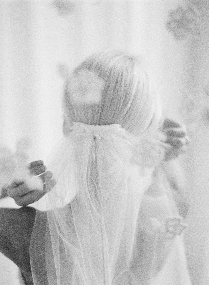 wedding veil fine art film ryan ray
