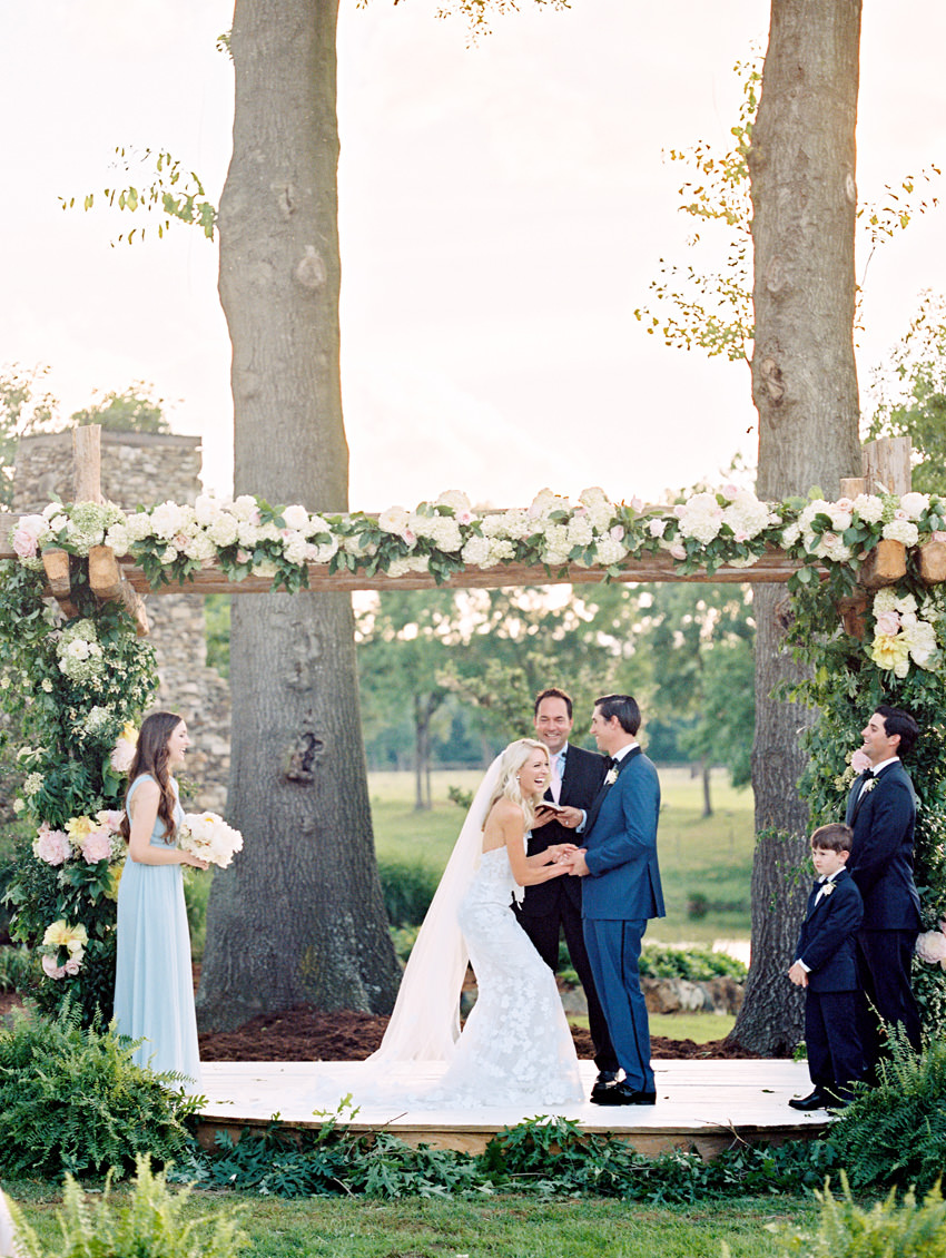 outdoor north carolina film wedding