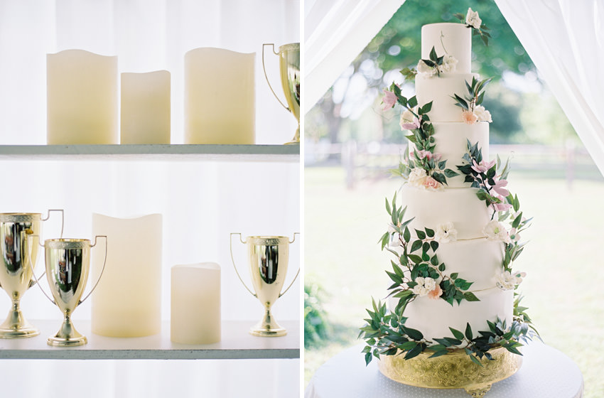 tall tier cake wedding north carolina